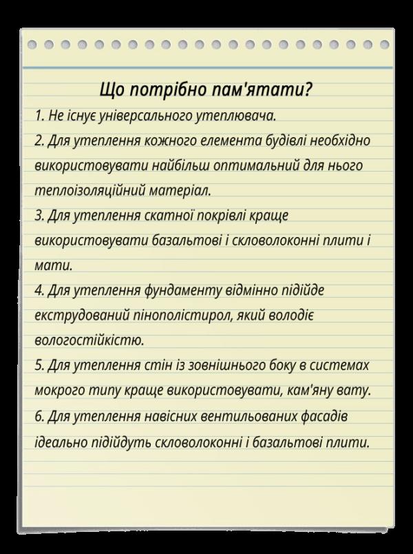 Uteplenie ukr 600x804 - Який утеплювач вибрати для будинку?