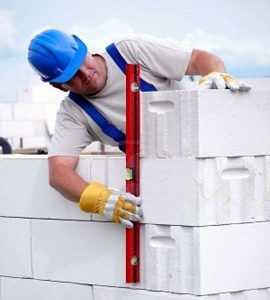 kladka sten iz gazobetona 270x300 - Який утеплювач вибрати для будинку?