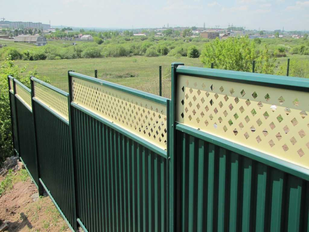 modul zabor premium 3 1024x768 - Як побудувати паркан з профнастилу своїми руками