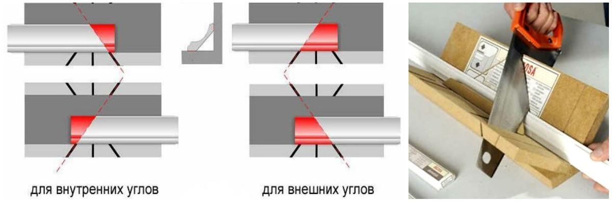 collage3 3 - Як клеїти стельовий плінтус