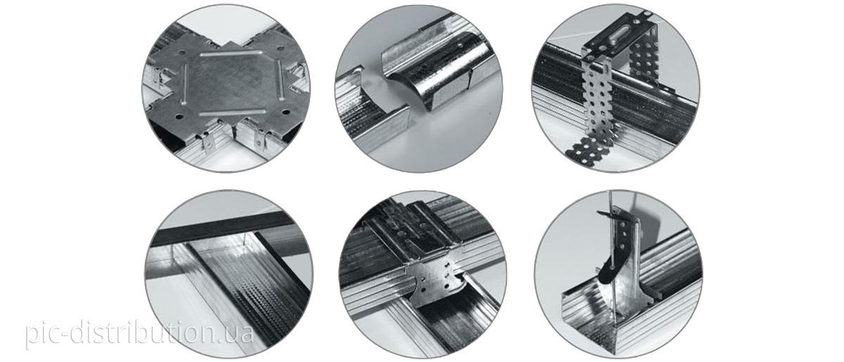 dopel1 - Виды профилей и комплектующих для гипсокартона