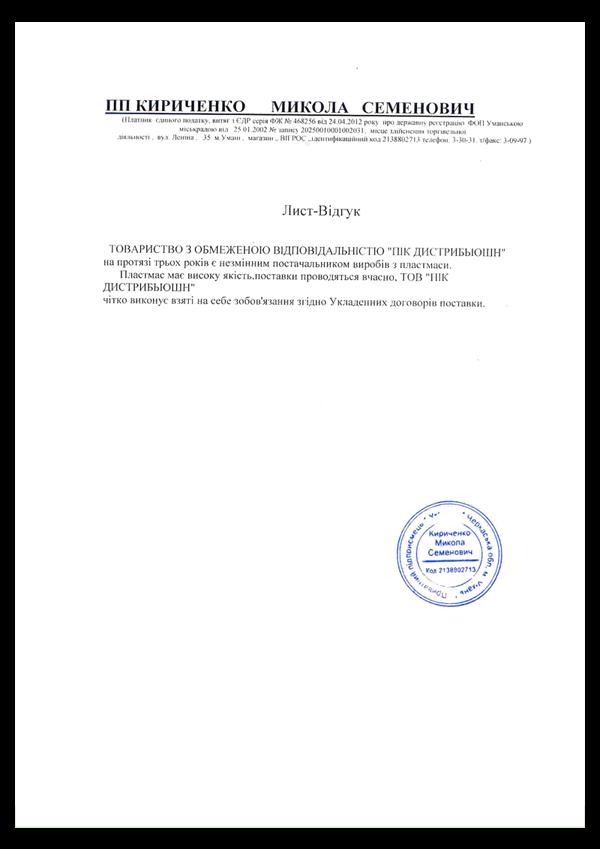 kirichenko1 600x849 - Отзывы и предложения
