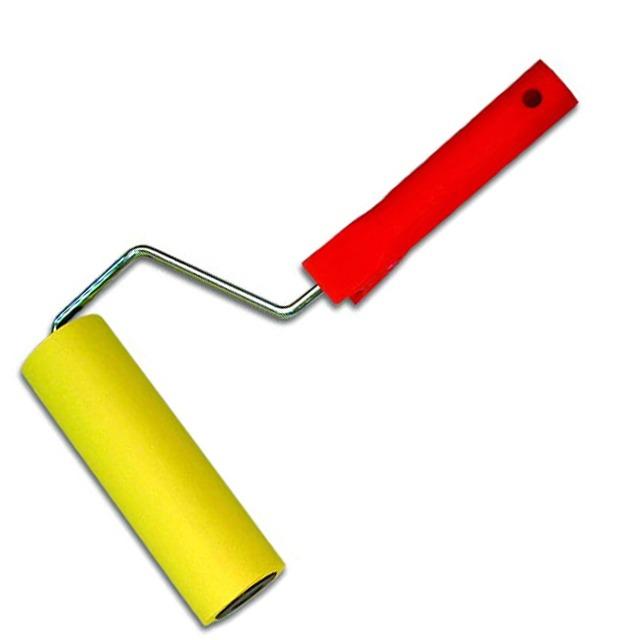 valik oboinii foto 1 - Как клеить обои на гипсокартон и подготовить поверхность
