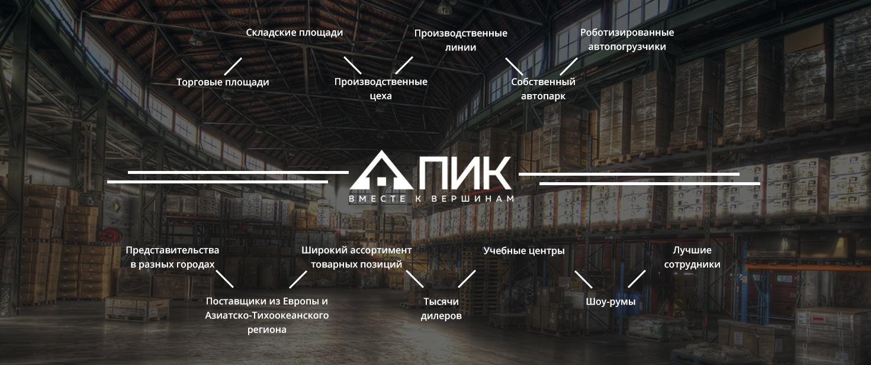 fon 3 - О компании — ПИК Дистрибьюшн