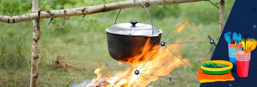 posuda dlya piknika - Посуда для пикника