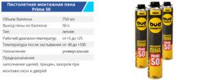 Pena 750 ml 50prime 300x117 - TM BUDMONSTER