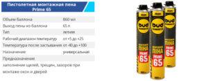 Pena 860 ml 65prime 300x117 - TM BUDMONSTER