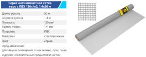Setka steklo 14 30 120g grey 300x117 - TM BUDMONSTER