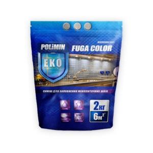 Затирка водостойкая Fuga Color 2,0кг Polimin